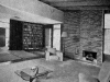 Hooper fireplace and bookcase
