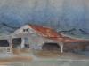 \'Barn\' by May Smith 1970